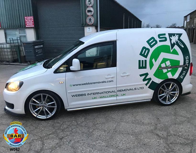 Webbs Van